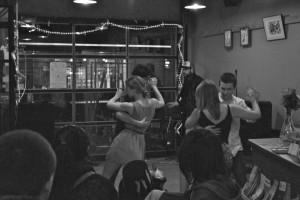 Dancing at the Sleepless Goat Cafe